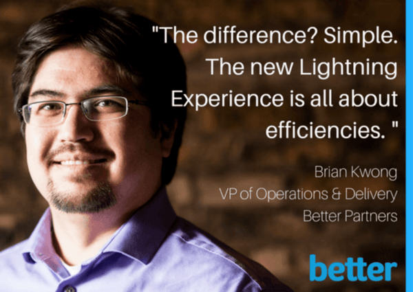 "Learn ""5 Tips for Launching Lightning"" from Brian Kwong at Salesforce World Tour Chicago."