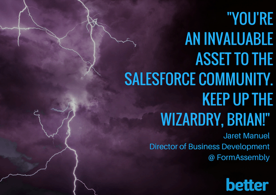 Salesforce World Tour Quote