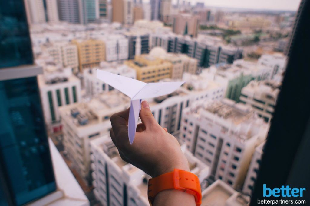 Salesforce-data-adoption-practice-paper-airplane-orange-watch