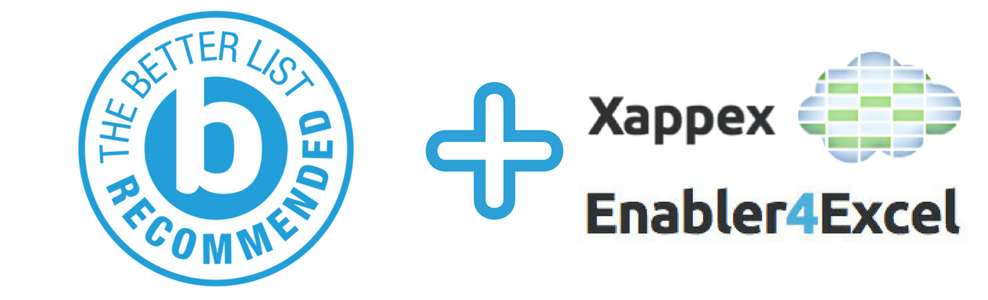 better-partners-better-list-xappex-enabler4excel-header XL-Connector