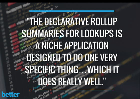 Declarative Rollup Summaries For Lookups in Salesforce